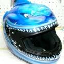thumbs motorcycle helmet painting 12