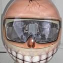 thumbs motorcycle helmet painting 14