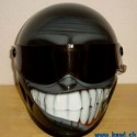 thumbs motorcycle helmet painting 21