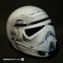 thumbs motorcycle helmet painting 23