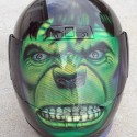 thumbs motorcycle helmet painting 24