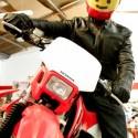 thumbs motorcycle helmet painting 27