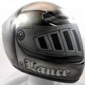 thumbs motorcycle helmet painting 41