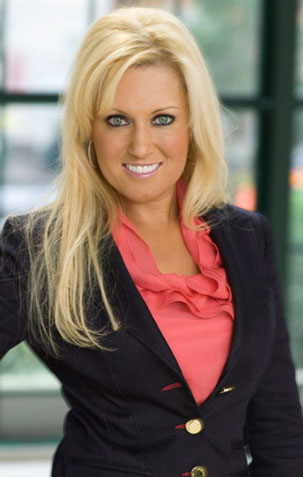 Natalie Gulbis on Celebrity Apprentice