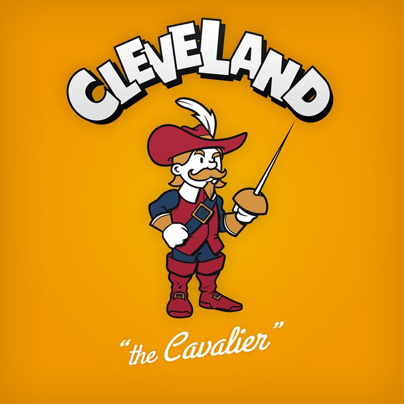 Cavaliers New Logo >> Cartoon NBA Logos