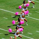 thumbs nfl pink cheerleaders breast cancer 10