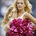 thumbs nfl cheerleaders pink cancer 17