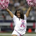 thumbs nfl cheerleaders pink cancer 24
