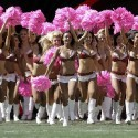 thumbs nfl cheerleaders pink cancer 42