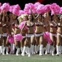thumbs nfl cheerleaders pink cancer 42