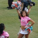 thumbs nfl cheerleaders pink cancer 47