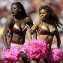 thumbs nfl cheerleaders pink cancer 52
