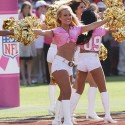 thumbs nfl cheerleaders pink cancer 63