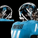 thumbs jessealkire carolinapanthers helmet