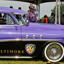 thumbs baltimore ravens car