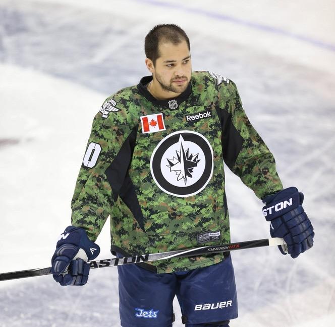 NHL Honors Military Veterans ef0f27fadf5