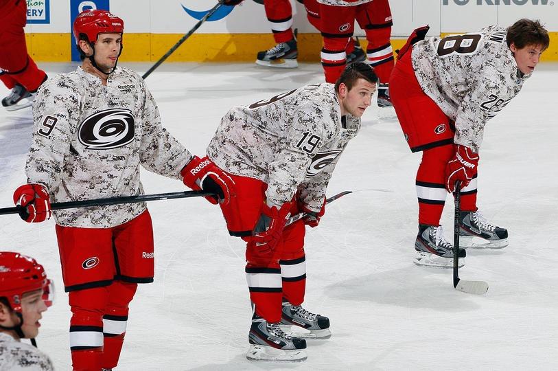 NHL Honors Military Veterans 36f5dbb0513