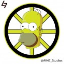 thumbs nhl bruins simpsons