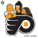 thumbs nhl flyers simpsons