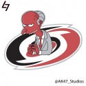 thumbs nhl hurricanes simpsons
