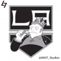 thumbs nhl kings simpsons