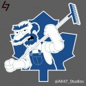 thumbs nhl maple leafs simpsons