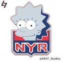 thumbs nhl rangers simpsons