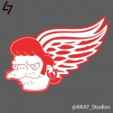 thumbs nhl redwings simpsons