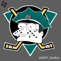 thumbs simpsons nhl ducks