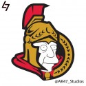 thumbs simpsons nhl senators