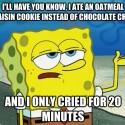 thumbs oatmeal cookie meme 07