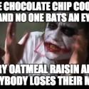 thumbs oatmeal cookie meme 08