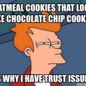 thumbs oatmeal cookie meme 16