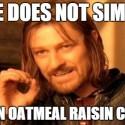 thumbs oatmeal cookie meme 17
