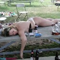 thumbs passed out 010