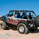 thumbs jeep american flag