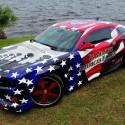 thumbs patriotic american cars 11