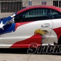 thumbs patriotic american cars 29