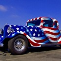 thumbs patriotic american cars 3