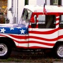thumbs patriotic american cars 67