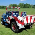 thumbs patriotic jeep old