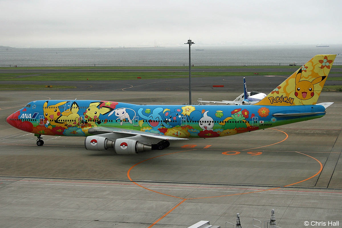Japans Pokemon World Cup Jet