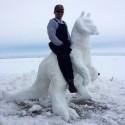 thumbs pop culture snow sculpture 07