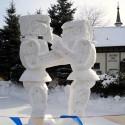 thumbs pop culture snow sculpture 10
