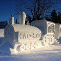 thumbs pop culture snow sculpture 11