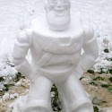 thumbs pop culture snow sculpture 12