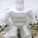 thumbs pop culture snow sculpture 12