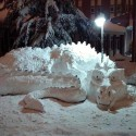 thumbs pop culture snow sculpture 14