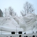 thumbs pop culture snow sculpture 16