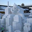 thumbs pop culture snow sculpture 19